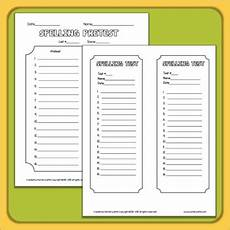 spelling worksheets for any list free 22316 spelling printables for any list by lynette tpt