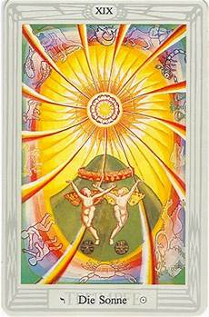 die sonne tarot tarotkarte xix die sonne