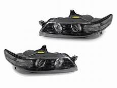 acura tl lights 2007 2008 acura tl jdm style depo black clear bi xenon d2s