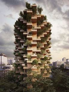 Concrete Tower In The Forest