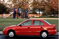 how do cars engines work 1995 hyundai accent engine control 1995 99 hyundai accent consumer guide auto