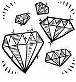 32 Diamond Shape Coloring Page