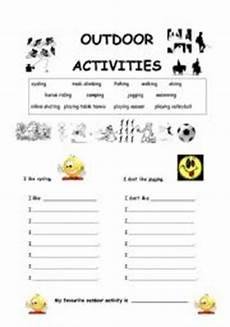 outdoor sports worksheets 15859 outdoor activities worksheets