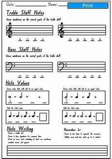 basic music theory worksheets music theory worksheets