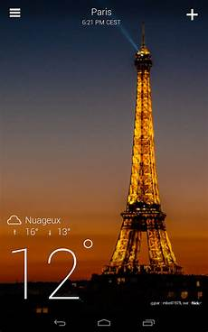 meteo yahoo yahoo m 233 t 233 o applications android sur play