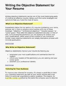 75 elegant photos of sle resume objective statements for human resources