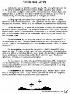 science review worksheets 6th grade 12383 atmosphere worksheets project by fran lafferty tpt