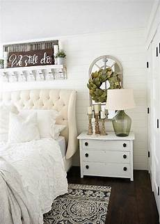 Magnolia Home Decor Ideas by Neutral Master Bedroom Nightstand Makeover With Magnolia