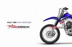 Striping Klx 150 Modifikasi by Modif Striping Kawasaki Klx150 Fiat Motogp