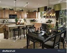 interior design of kitchen room kitchen interior design architecture stock images