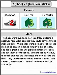 multiplication story 2x3 6 and activity multiplication
