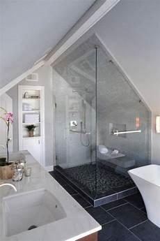 Low Ceiling Attic Bathroom Ideas by 52 Cool And Smart Attic Bathroom Designs In 2019 B A T H