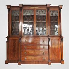 bibliothèque anglaise meuble biblioth 232 que anglaise en acajou de cuba de style empire
