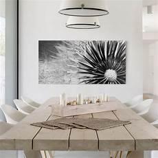 Leinwandbilder Schwarz Weiß - leinwandbild schwarz wei 223 pusteblume schwarz wei 223