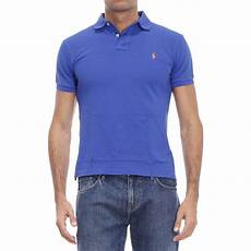 polo ralph t shirt in blue for royal lyst