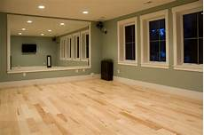 light hardwood for a workout room beautiful