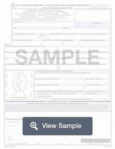 form ds 82 passport renewal application pdf word