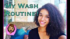 my wash day routine naturally curly hair shimmerdi youtube