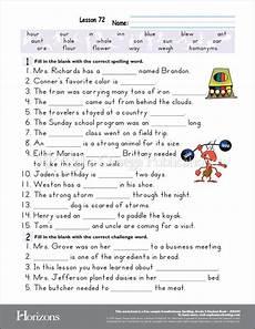 homeschool spelling worksheets 22416 aop horizons free printable worksheet sle page for homeschooling from alpha omega