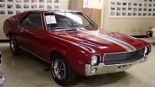 1969 AMC AMX 390 V8 Four Speed Muscle Car  YouTube