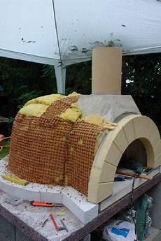 Aufbau Pizzaofen Bauen Pizzaofen Steinofen