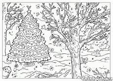 Jahreszeiten Malvorlagen Quotes Laden Sie Die Malseite Winterlandschaft Herunter Oder