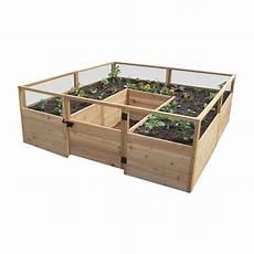 Hochbeet Holz Selber Bauen - hewetson lawn garden wooden garden beds 8 x 8 raised