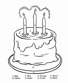 birthday color by number worksheet 16090 birthday cake coloring pages color by numbers birthday coloring pages coloring pages for