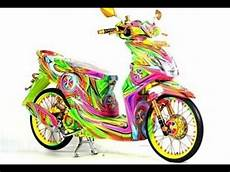 Airbrush Beat Karbu by Tm2 Modifikasi Motor Honda Beat Airbrush Warna
