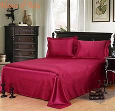 bed sheet 1pc 30 mulberry silk bedsheets king queen full quilt cover home textile