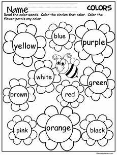 colors spelling printable 12809 flower color words worksheet teaching colors kindergarten worksheets preschool colors