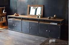 meuble de rangement de 3m inspir 233 du style industriel en