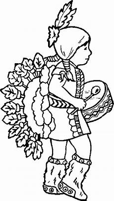 Ausmalbild Indianer Am Lagerfeuer Indian Coloring Pages Coloringpages1001