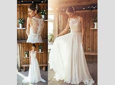Discount 2016 Spring Amanda Wyatt Boho Wedding Dresses A