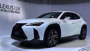 All New 2018 Lexus UX Officially Revealed At The Geneva