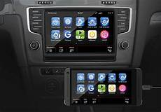 Vw App Connect Iphone - noch 2015 volkswagen app connect kombiniert carplay und