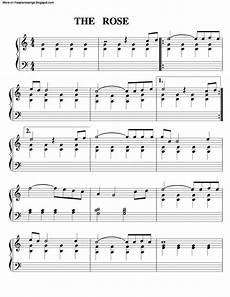the rose free sheet music by bette midler pianoshelf
