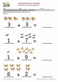 pre k addition worksheets with pictures 9638 pre k addition worksheets adding up to 10 free printable pdf