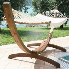 amaca in legno supporto in legno lamellare di pino trattato per esterno