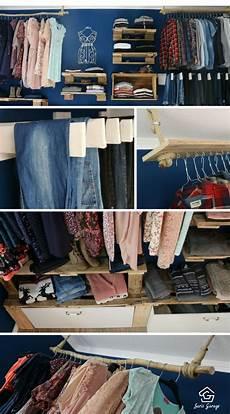 kleiderschrank aus paletten die besten 25 offener kleiderschrank ideen auf