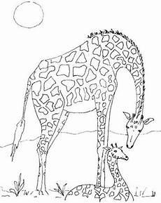 malvorlage giraffe zum ausmalen malvorlagen