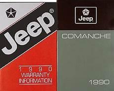 how to download repair manuals 1992 jeep comanche regenerative braking 1990 jeep comanche owner s manual original