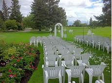 the floral fixx outdoor wedding ceremony up