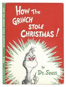 Grinch Malvorlagen Novel Lot Detail Dr Seuss How The Grinch Stole