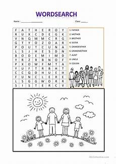 family worksheets free 18612 family word search worksheet free esl printable worksheets made by teachers