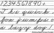 cursive handwriting worksheets with arrows 21971 buy zwriting basic arrows guided for windows macintosh and linux
