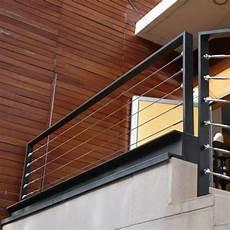 garde corps extérieur aluminium garde corps aluminium acier cables inox balustrade