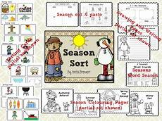 seasons worksheets cut and paste 14760 mrs bremer s class learning about the seasons