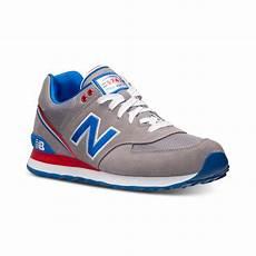 lyst new balance mens 574 stadium jacket casual sneakers
