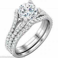 white gold wedding ring sets ebay